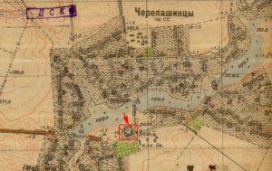 Карта 40-х років ХХ століття