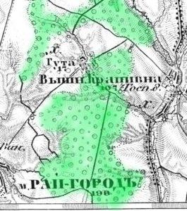 Карта Шуберта 1868 - 1877