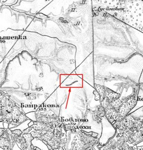 Вал на карті Шуберта