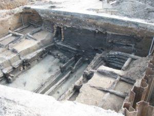 Археологические раскопки в Смоленске