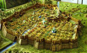 Макет фортеці