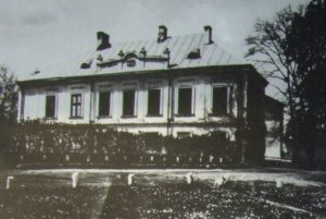 Палац, споруджений на замчищі