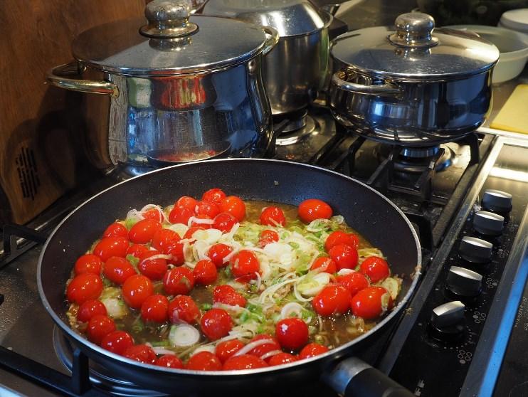 Приготування овочів