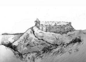 Реконструкція малинського городища (М.І.Довганич)