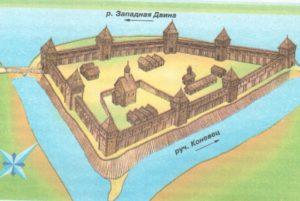 Реконструкция крепости в городе Велиж