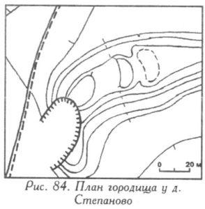 Городище у деревни Степаново