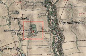 Карта 1861 - 1864 років