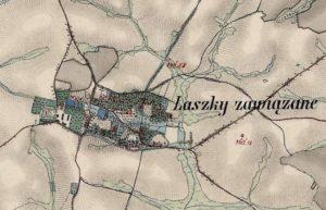 Карта 1864 - 1869 років