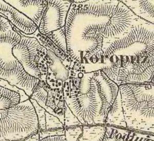 Карта 1869 - 1887 років