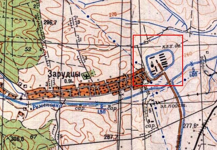 Карта 1949 року