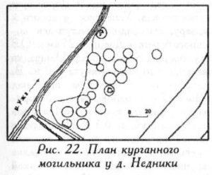 Курганный могильник у деревни Недники