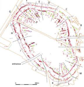 План трипільського міста Небелівка