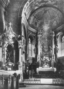 Вівтар, фотографія 1923 року