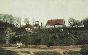 Городище Бурцева Гора в Рославле, отрытка начала ХХ века