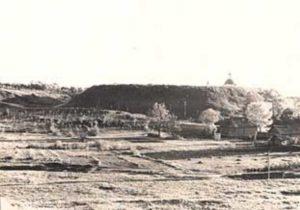 Городище Бурцева Гора в Рославле в 1943 году