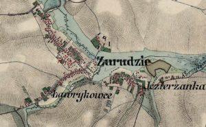 Карта 1864 року