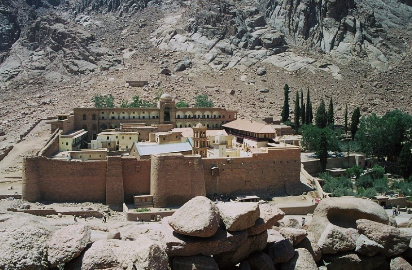 Монастир святої Катерини на Синайському півострові