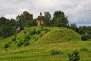 Село Епишево, городище
