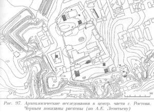 Археология центральной части Ростова