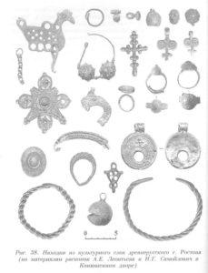 Древнерусские украшения