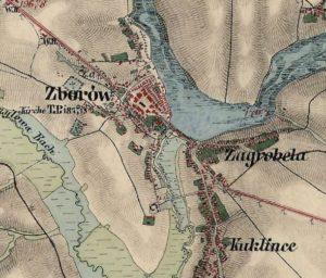 Австрійська карта 1861 - 1864 років