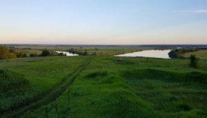 Городище города Ольгов у села Льгово