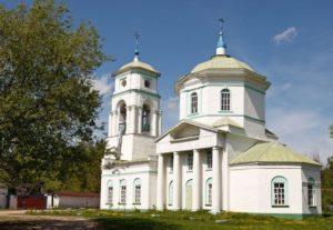 Церковь всех святых в поселке Елатьма
