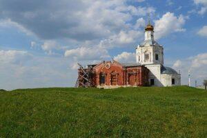Церковь Успения Пресвятой Богородище в селе Глебово-Городище