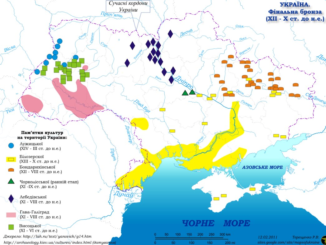 Бронзова доба в Україні
