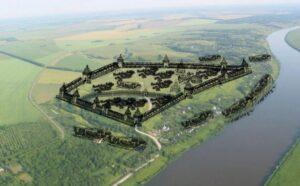 Реконструкция городища Старая Рязань