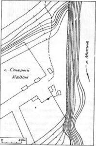 Старый Кадом, селище № 1 и грунтовый могильник Старокадомский