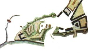 План могилівського замку у ХІХ столітті