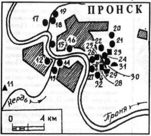 Археология города Пронск